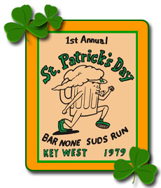 St. Patrick's Day Bar Stroll, Key West, Florida